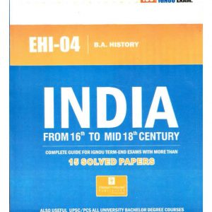 IGNOU EHI-04 HELP BOOK