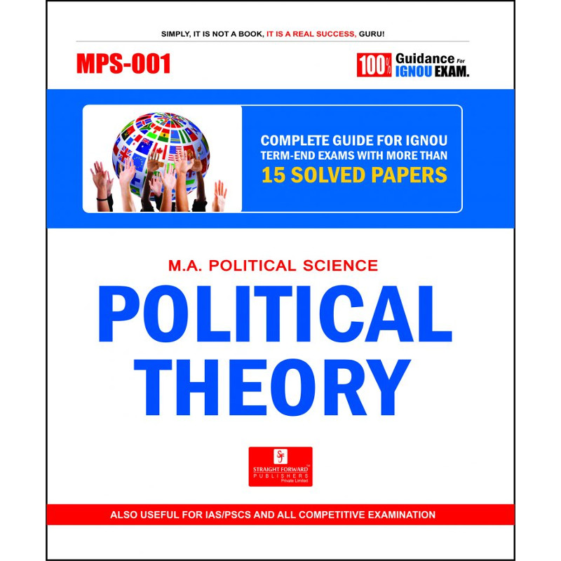 MPS-001 Political Theory (Ignou Help Book)