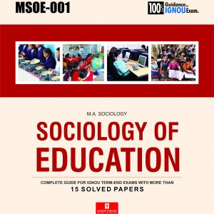 MSOE-001 ignou help book