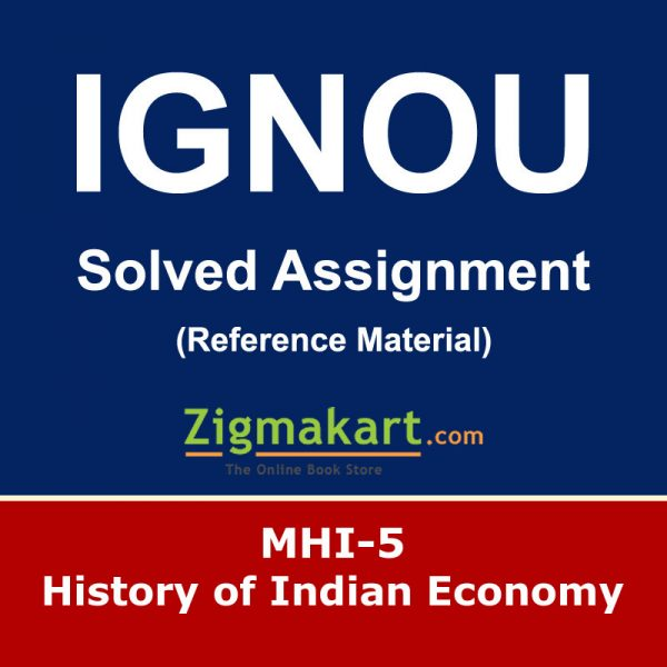Ignou MHI-05 Solved Assignment
