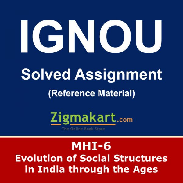Ignou MHI-06 Solved Assignment