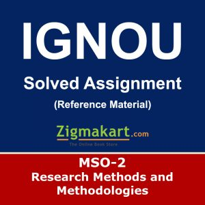 MSO-002 Solved Assignment