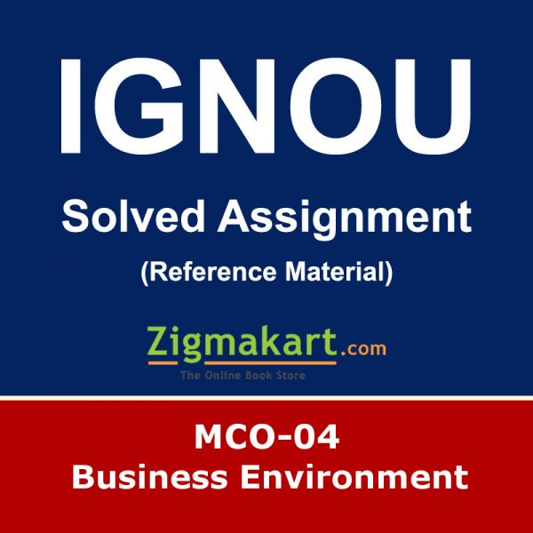 ignou mco-04 solved assignment