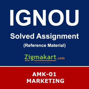 Ignou AMK-01 Solved Assignment