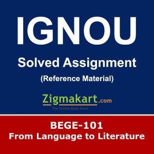 Ignou BEGE-101 Solved Assignment