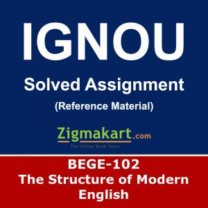 Ignou BEGE-102 Solved Assignment