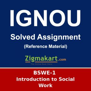 IGNOU BSWE-1 Solved Assignment