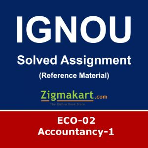 Ignou ECO-02 Solved Assignment