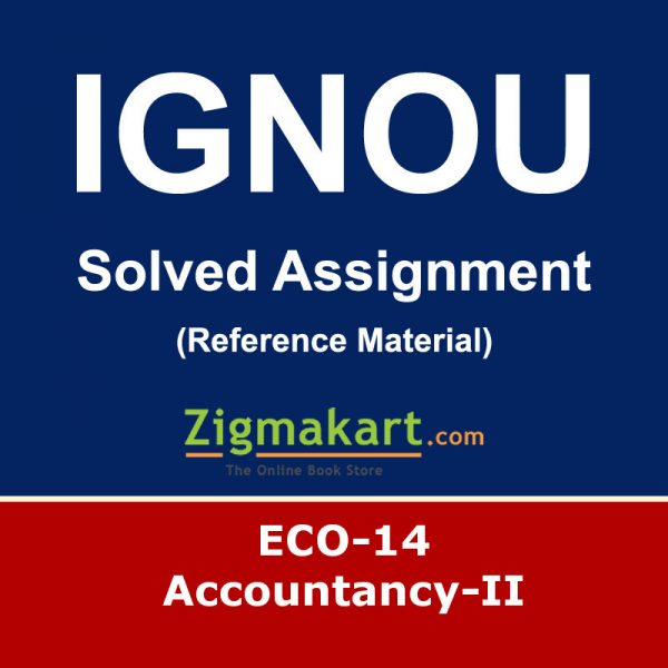 Ignou ECO-14 Solved Assignment