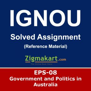 Ignou EPS-8 Solved Assignment