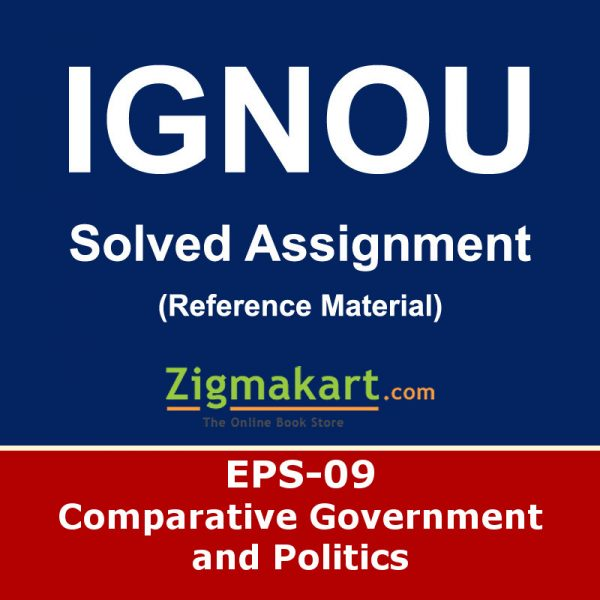 Ignou EPS-9 Solved Assignment