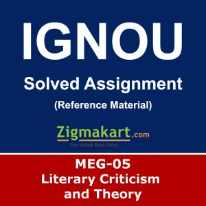 Ignou MEG-05 Solved Assignment