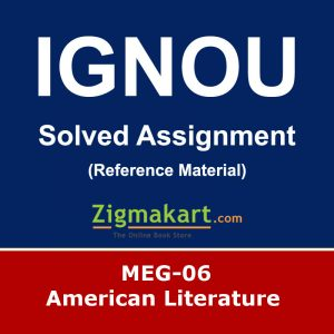 Ignou MEG-06 Solved Assignment