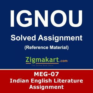 Ignou MEG-7 Solved Assignment