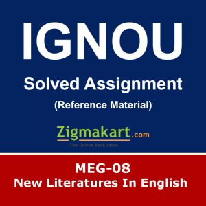 Ignou MEG-08 Solved Assignment