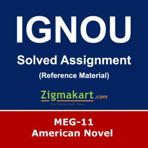 Ignou MEG-11 Solved Assignment
