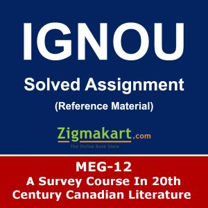 Ignou MEG-12 Solved Assignment