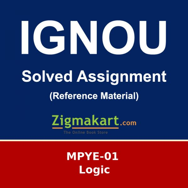 Ignou MPYE 01 Solved Assignment