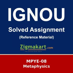 Ignou MPYE-08 Solved Assignment