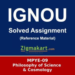 Ignou MPYE-09 Solved Assignment