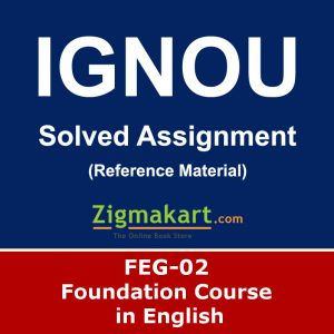 Ignou FEG-02 Solved Assignment