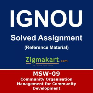 Ignou MSW-9 Solved Assignment