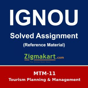 MTTM/MTM 11 Solved Assignment