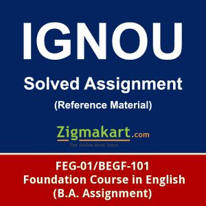ignou feg-01 solved assignment