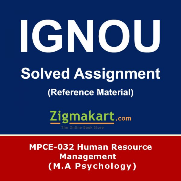 Ignou MPCE-032 Solved Assignment