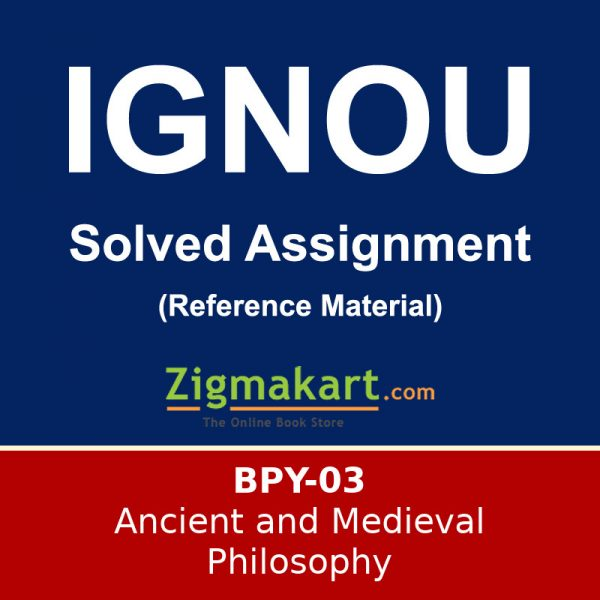 IGNOU BPY-3 Solved Assignment