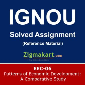 Ignou EEC-06 Solved Assignment