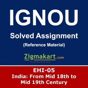 Ignou EHI-05 Solved Assignment