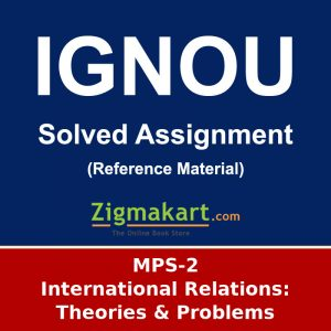 IGNOU MPS-2 MA Political Science Solved Assignment