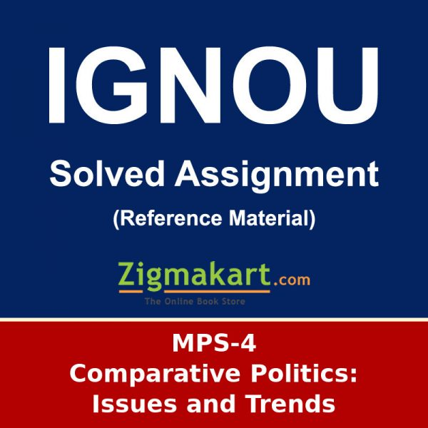 IGNOU MPS-4 MA Political Science Solved Assignment