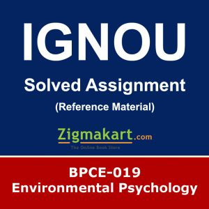 Ignou BPCE-19 Solved Assignment