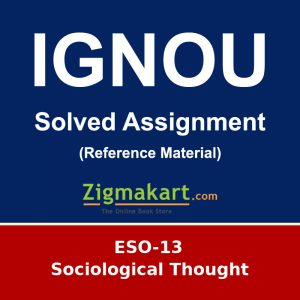 IGNOU ESO-13 B.A Sociology Solved Assignment