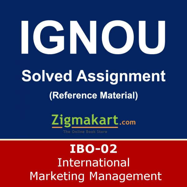 ignou ibo-02 solved assignment