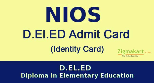 NIOS DELED Admit card (Identity Card)