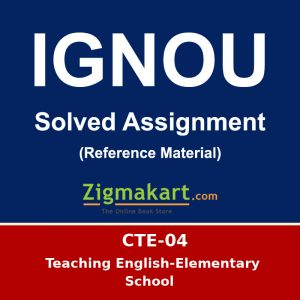 Ignou CTE-04 solved assignment