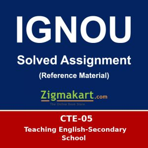 Ignou CTE-5 solved assignment