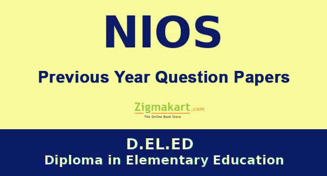 NIOS D.El.Ed Question Papers