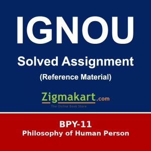 Ignou BA Philosophy Assignments