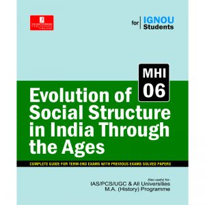 Ignou MA History Book