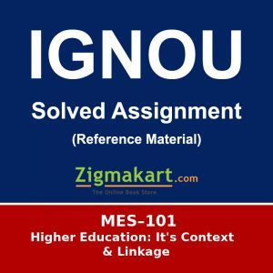 MES-101 ignou Solved Assignment