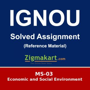 MS-03 Ignou Solved Assignment