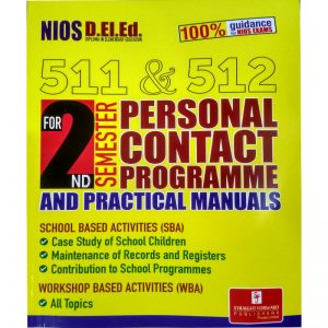 NIOS D.EL.ED 511-512 TEXT BOOK