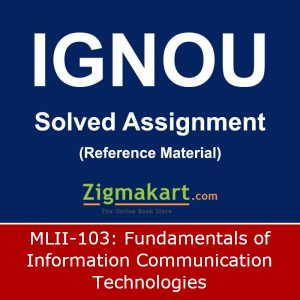 IGNOU MLII-103 Solved Assignment