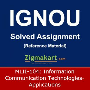 IGNOU MLII-104 Solved Assignment