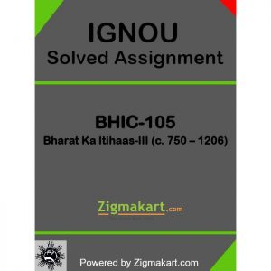 BHIC-105 Solved Assignment