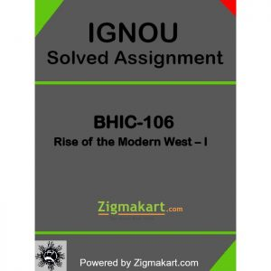 BHIC-106 Solved Assignment